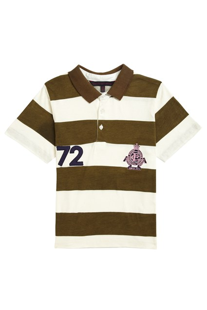 Panther Paddy Stripe Polo