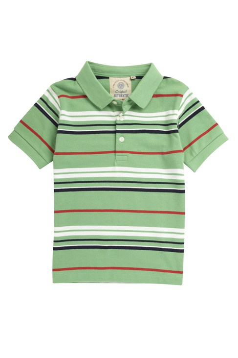 Axle Stripe Polo Tee