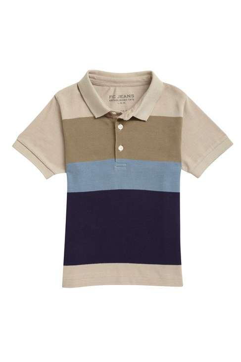 Outdoors Oversized Stripe Polo