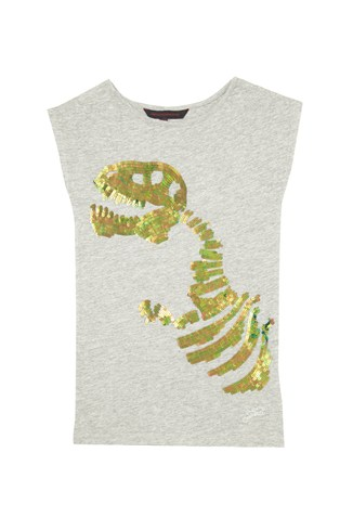 T-Rex Long Tee Sequinned Tee