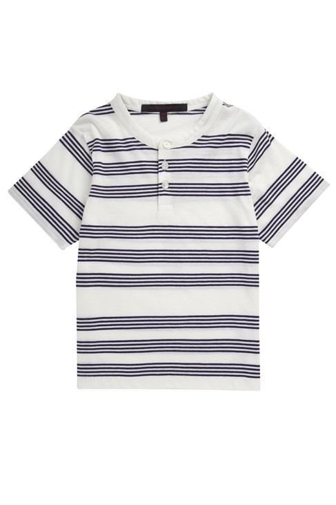 Seaspray Stripe Jersey Crew
