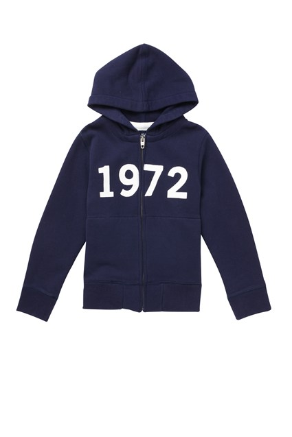 72 Sweat Zip Through Hoody