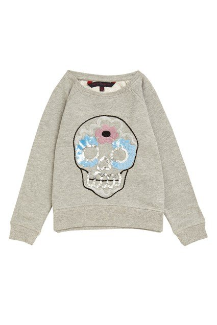 Folk Skull Sweat Raglan Sweat