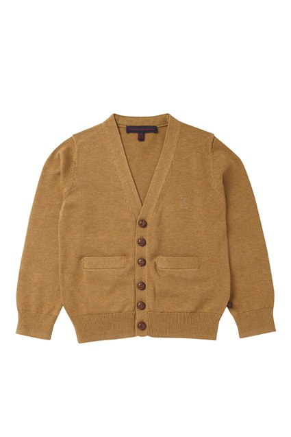 Harvey Cotton Elbow Patch Cardi