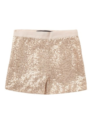Fast Mini Sequins Shorts