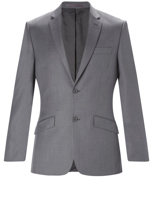 French Connection Plain Suit Slim Fit Jacket Grey