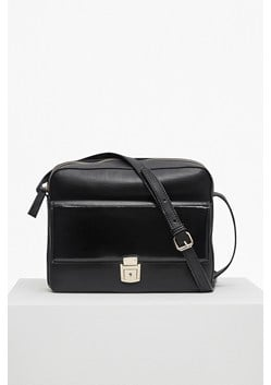 Clean Caroli Faux Leather Cross Body Bag
