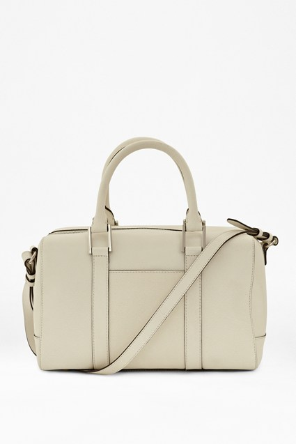 Air Of Elegance Leather Bowling Bag