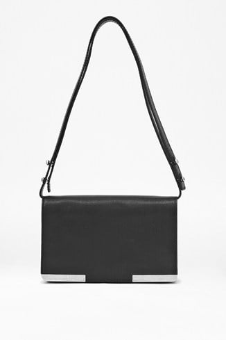 Air Of Elegance Leather Shoulder Bag