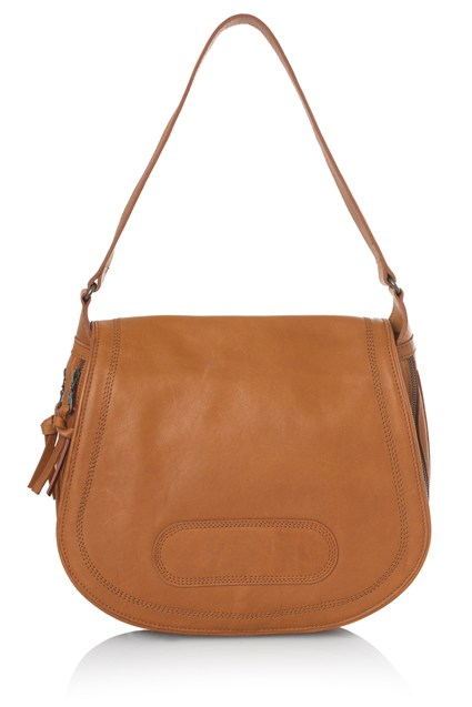 Twin Zip Saddle Bag