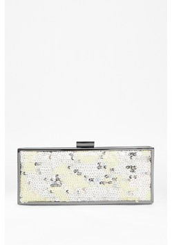 Abby Sequinned Box Clutch