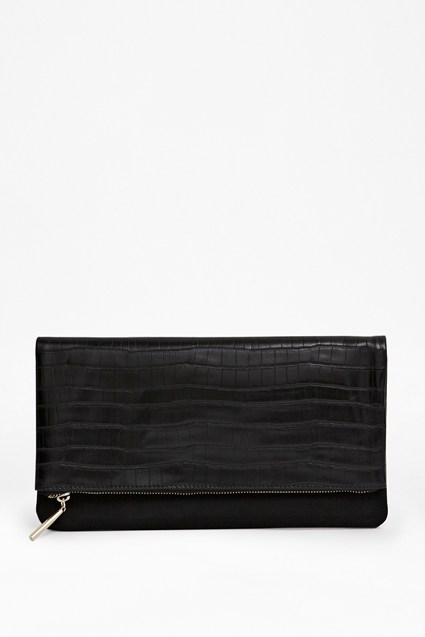 Sally Fold-Over Clutch