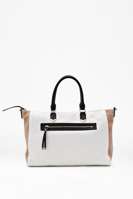abia leather bowler bag