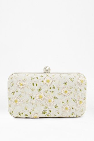 Flower Burst Box Clutch