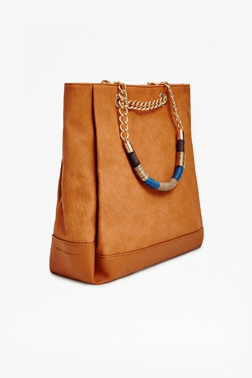 cherise wrapping detail tote