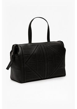 Lizi Laser Faux Leather Tote Bag