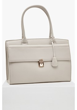 Clean Capri Faux Leather Tote Bag