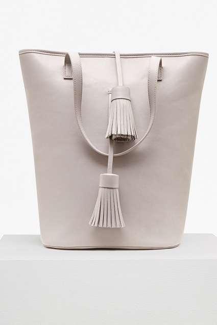 Multi Tassel PU Betty Tote