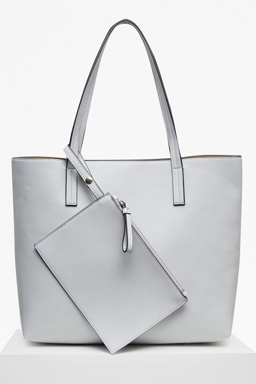 core shopper bag with pouch
