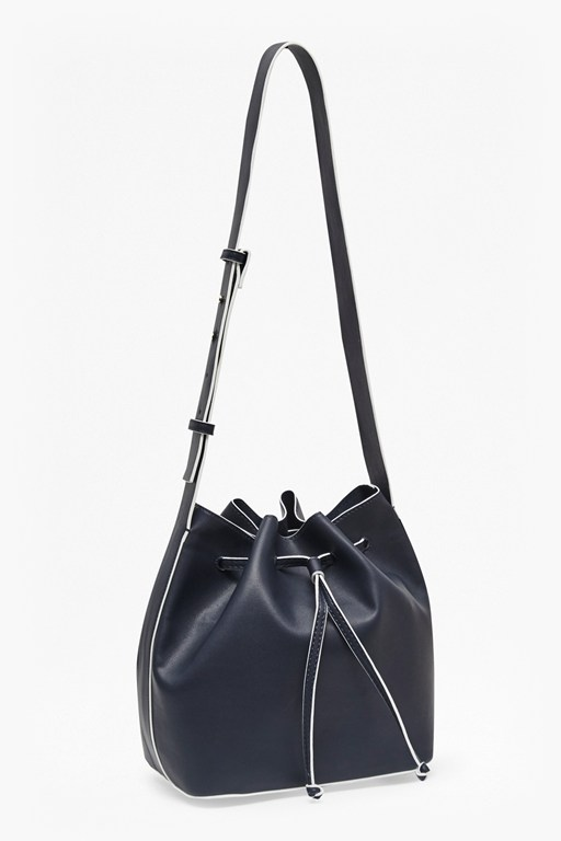 Complete the Look Core Contrast Edge Bucket Bag