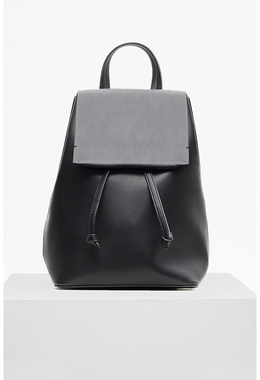 Core Faux Leather Backpack