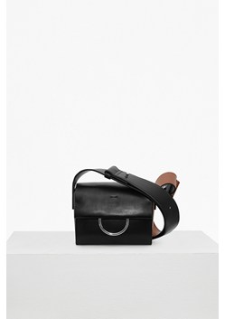 Oversized Buckle Square Shoulder Bag