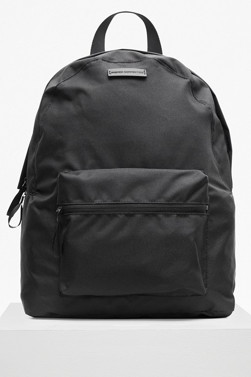 casual two tone backpack