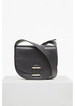Contemporary Slide Lock Cross Body Bag