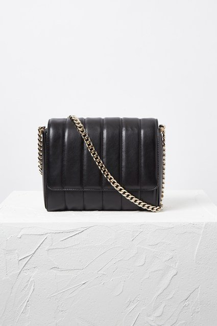 Rudy Quilted Cross-Body Bag
