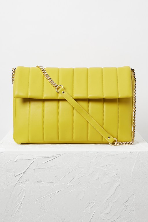 Complete the Look Rozzie Oversized Quilted Bag