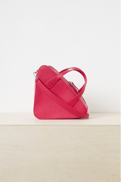 Fifi Recycled Leather Crossbody Bag
