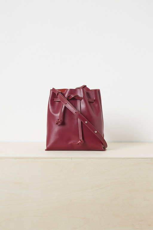 sauda leather bucket bag