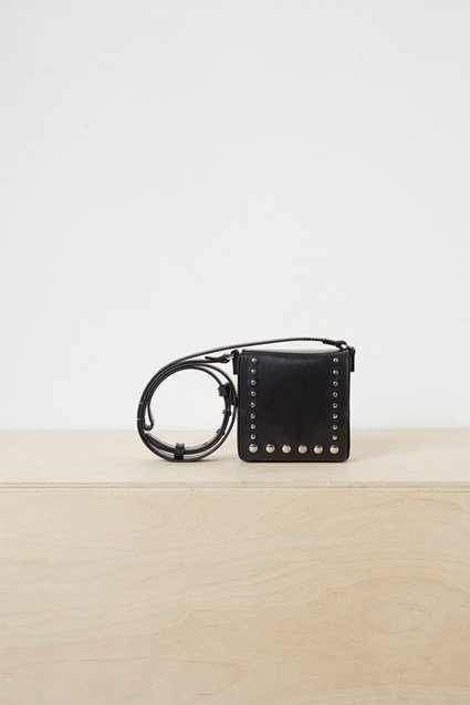 Anneli Studded Box Cross Body Bag
