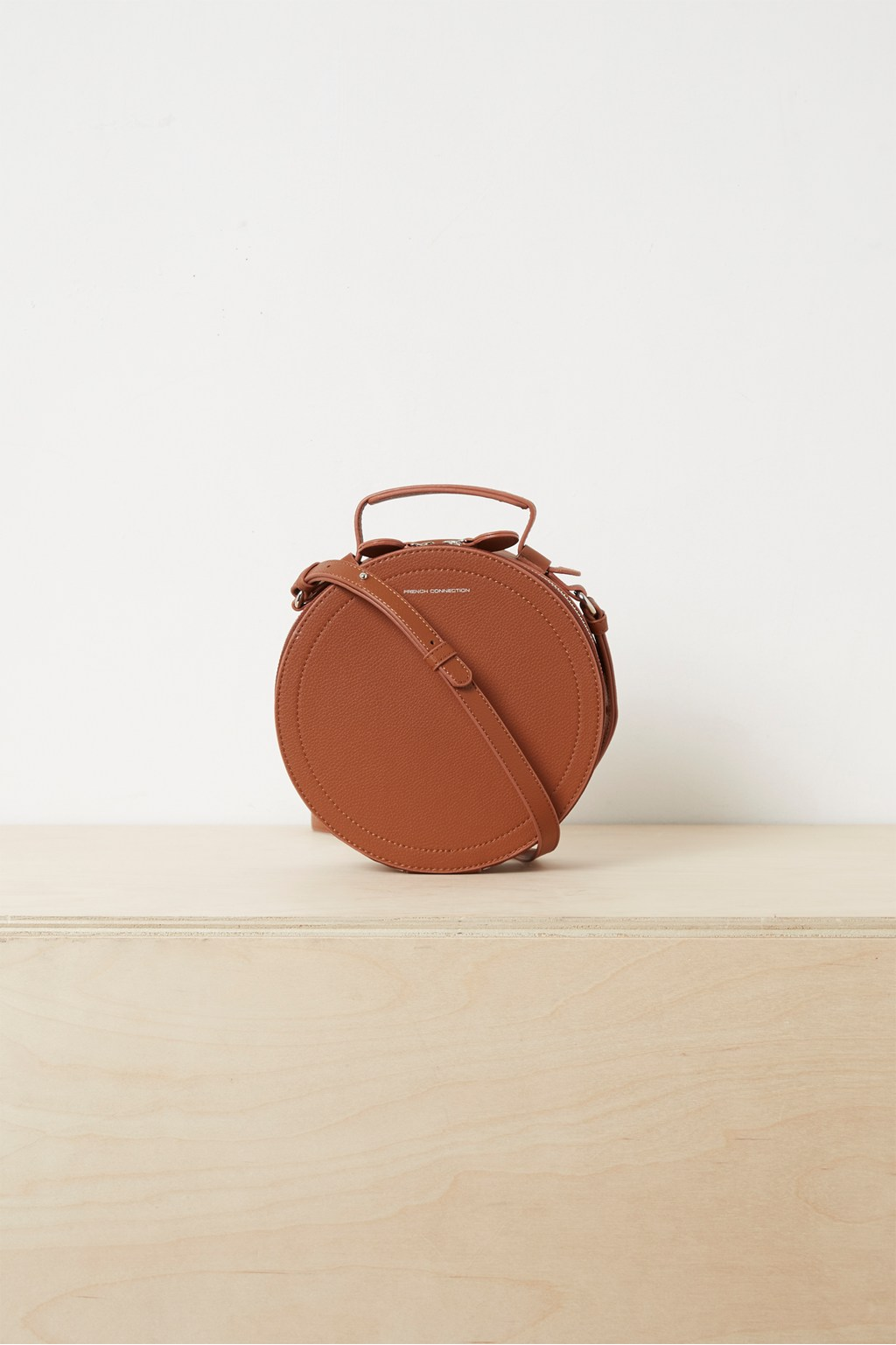 65c8dade715c Trace Recycled Leather Crossbody Bag. loading images.