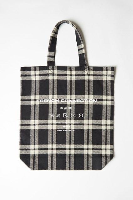 French Connection Charity Upcycled Tote