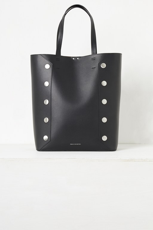 Complete the Look Bianca Recycled Leather Studded Tote