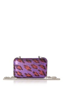 Disco Leopard Clutch