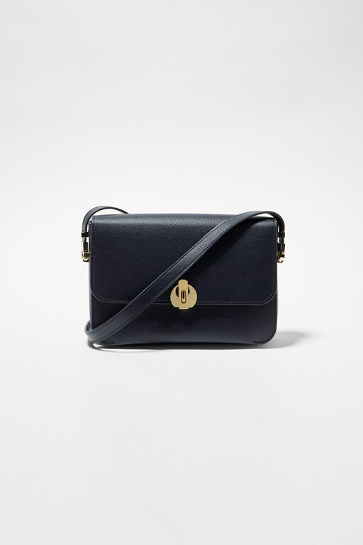 margot recycled leather crossbody bag