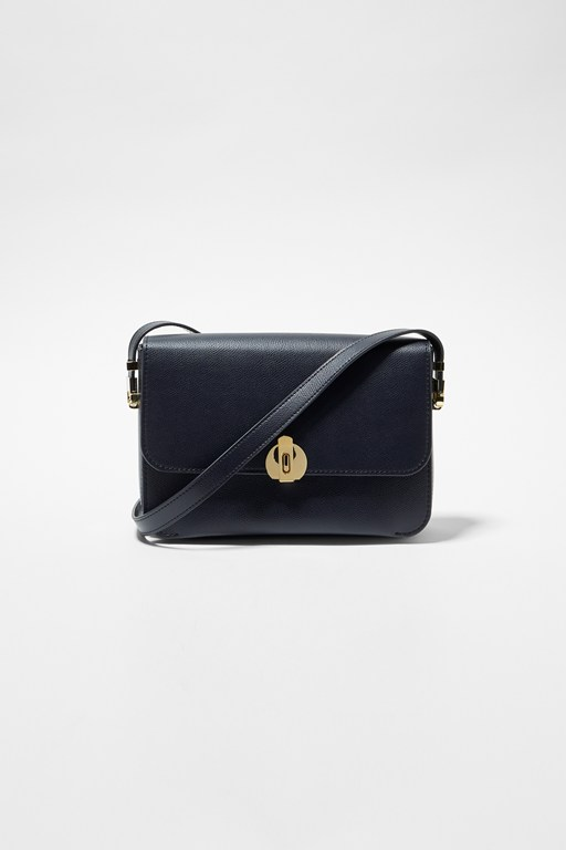 Complete the Look Margot Recycled Leather Crossbody Bag