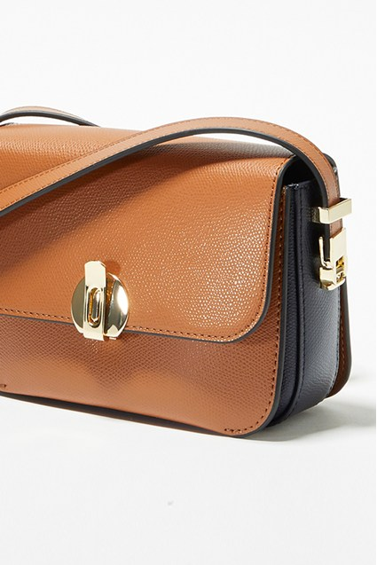 Margot Recycled Leather Mini Crossbody Bag
