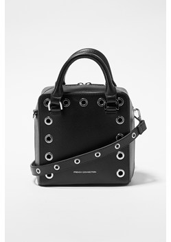 Fern Studded Split Leather Crossbody Bag