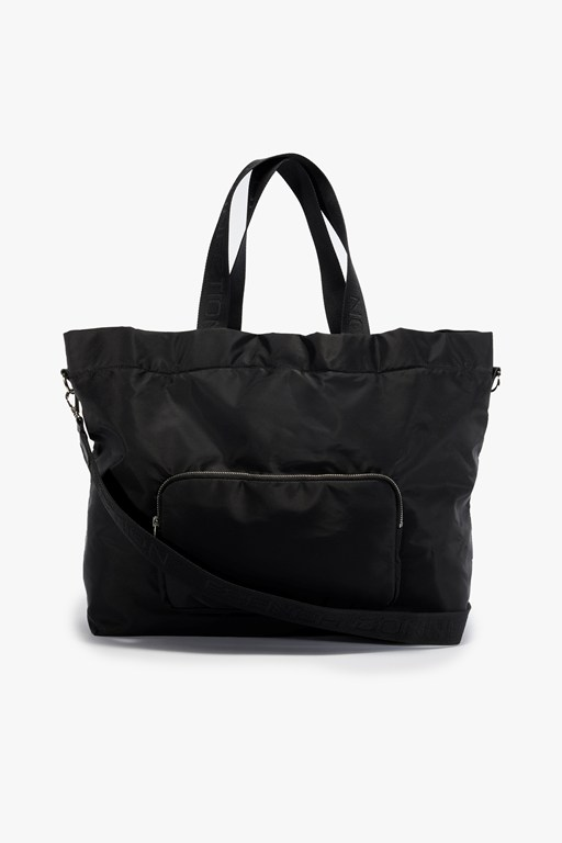 Complete the Look Mila Nylon Tote Bag