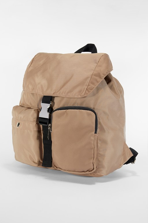 core mini drawstring nylon backpack