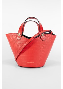 Croc Recycled Leather Mini Market Tote Bag
