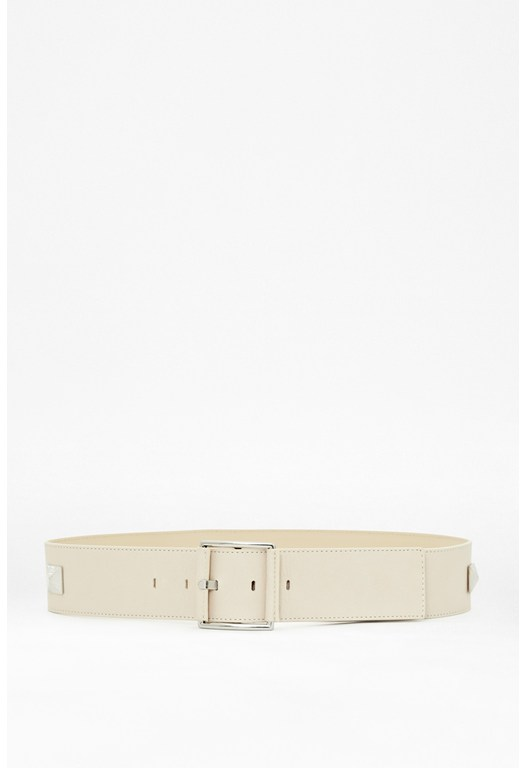 Clara Studded Leather Belt
