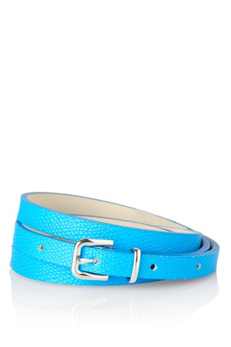 Pop Waisted Skinny Belt
