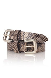 Double Slinky Snake Belt