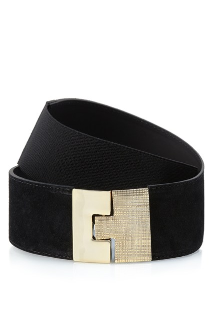 Puzzle Lock Leather Belt