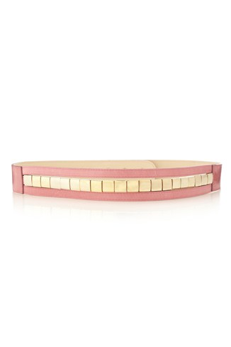 Metal Square Row Belt