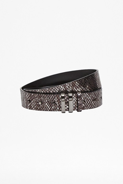 serena leather belt